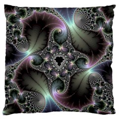 Precious Spiral Wallpaper Large Flano Cushion Case (Two Sides)
