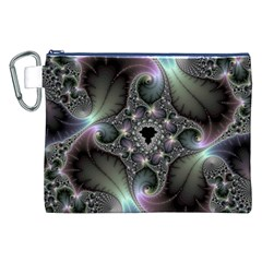 Precious Spiral Wallpaper Canvas Cosmetic Bag (XXL)