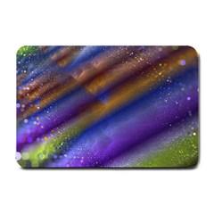 Fractal Color Stripes Small Doormat