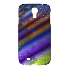 Fractal Color Stripes Samsung Galaxy S4 I9500/i9505 Hardshell Case