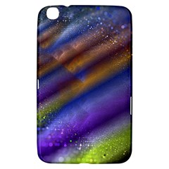 Fractal Color Stripes Samsung Galaxy Tab 3 (8 ) T3100 Hardshell Case