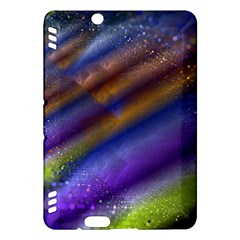 Fractal Color Stripes Kindle Fire HDX Hardshell Case