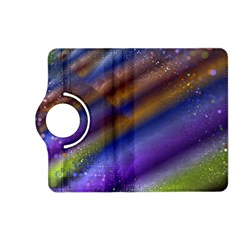 Fractal Color Stripes Kindle Fire HD (2013) Flip 360 Case