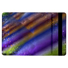 Fractal Color Stripes iPad Air Flip