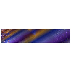 Fractal Color Stripes Flano Scarf (small)