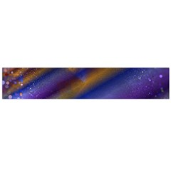Fractal Color Stripes Flano Scarf (Large)
