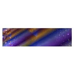 Fractal Color Stripes Satin Scarf (Oblong)