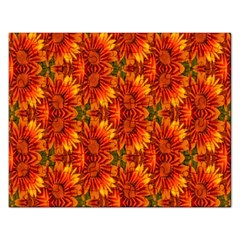 Background Flower Fractal Rectangular Jigsaw Puzzl