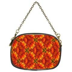 Background Flower Fractal Chain Purses (one Side)