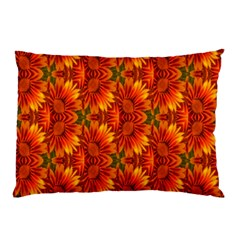 Background Flower Fractal Pillow Case (Two Sides)