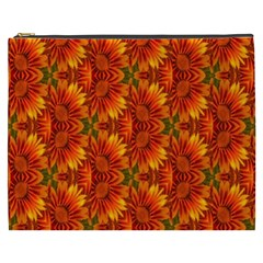 Background Flower Fractal Cosmetic Bag (XXXL)