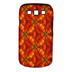 Background Flower Fractal Samsung Galaxy S III Classic Hardshell Case (PC+Silicone)
