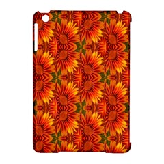 Background Flower Fractal Apple Ipad Mini Hardshell Case (compatible With Smart Cover)
