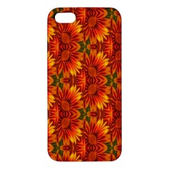 Background Flower Fractal Apple iPhone 5 Premium Hardshell Case