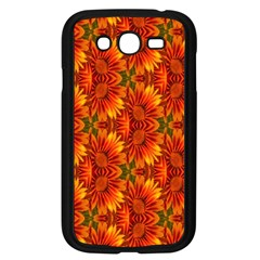 Background Flower Fractal Samsung Galaxy Grand DUOS I9082 Case (Black)
