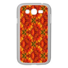 Background Flower Fractal Samsung Galaxy Grand DUOS I9082 Case (White)