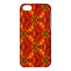 Background Flower Fractal Apple iPhone 5C Hardshell Case