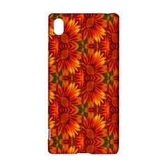 Background Flower Fractal Sony Xperia Z3+