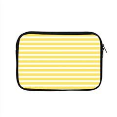 Horizontal Stripes Yellow Apple Macbook Pro 15  Zipper Case