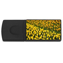 Colorful Tulips In Keukenhof Gardens Wallpaper USB Flash Drive Rectangular (1 GB)