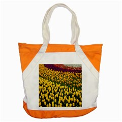 Colorful Tulips In Keukenhof Gardens Wallpaper Accent Tote Bag