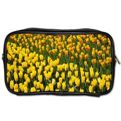 Colorful Tulips In Keukenhof Gardens Wallpaper Toiletries Bags