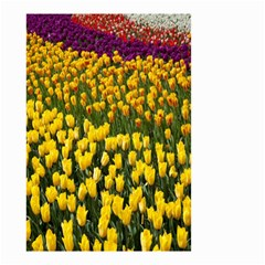 Colorful Tulips In Keukenhof Gardens Wallpaper Small Garden Flag (two Sides)