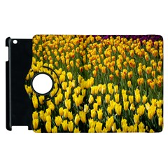 Colorful Tulips In Keukenhof Gardens Wallpaper Apple Ipad 2 Flip 360 Case
