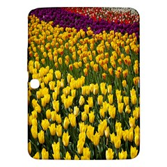 Colorful Tulips In Keukenhof Gardens Wallpaper Samsung Galaxy Tab 3 (10.1 ) P5200 Hardshell Case