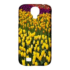 Colorful Tulips In Keukenhof Gardens Wallpaper Samsung Galaxy S4 Classic Hardshell Case (PC+Silicone)