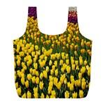 Colorful Tulips In Keukenhof Gardens Wallpaper Full Print Recycle Bags (L)  Back