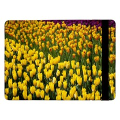 Colorful Tulips In Keukenhof Gardens Wallpaper Samsung Galaxy Tab Pro 12.2  Flip Case