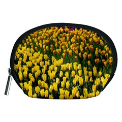 Colorful Tulips In Keukenhof Gardens Wallpaper Accessory Pouches (Medium)