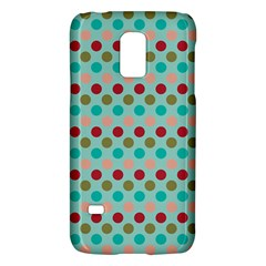 Large Colored Polka Dots Line Circle Galaxy S5 Mini