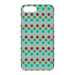 Large Colored Polka Dots Line Circle Apple Iphone 7 Plus Hardshell Case