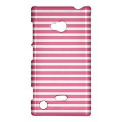 Horizontal Stripes Light Pink Nokia Lumia 720