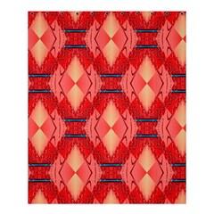 Orange Fractal Background Shower Curtain 60  X 72  (medium)
