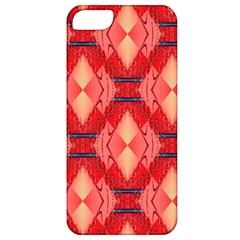 Orange Fractal Background Apple iPhone 5 Classic Hardshell Case