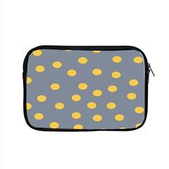 Limpet Polka Dot Yellow Grey Apple Macbook Pro 15  Zipper Case