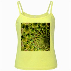 Beautiful Image Fractal Vortex Yellow Spaghetti Tank