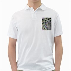 Beautiful Image Fractal Vortex Golf Shirts