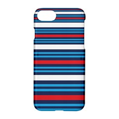 Martini Style Racing Tape Blue Red White Apple Iphone 7 Hardshell Case