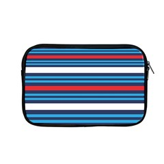 Martini Style Racing Tape Blue Red White Apple Macbook Pro 13  Zipper Case