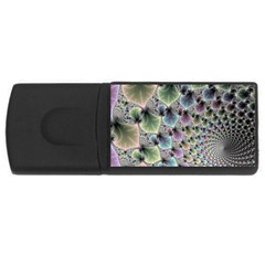 Beautiful Image Fractal Vortex USB Flash Drive Rectangular (2 GB)