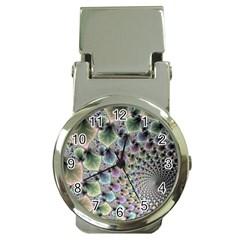 Beautiful Image Fractal Vortex Money Clip Watches
