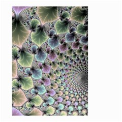 Beautiful Image Fractal Vortex Small Garden Flag (Two Sides)
