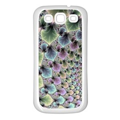 Beautiful Image Fractal Vortex Samsung Galaxy S3 Back Case (White)
