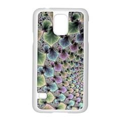 Beautiful Image Fractal Vortex Samsung Galaxy S5 Case (White)