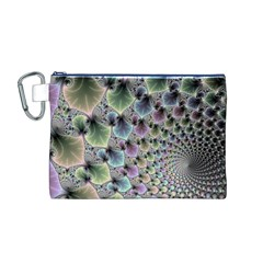 Beautiful Image Fractal Vortex Canvas Cosmetic Bag (M)