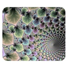 Beautiful Image Fractal Vortex Double Sided Flano Blanket (small)